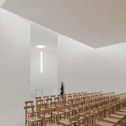 Alvaro Siza . Church of Saint-Jacques de la Lande . Rennes (43)