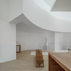 Alvaro Siza . Church of Saint-Jacques de la Lande . Rennes (65)
