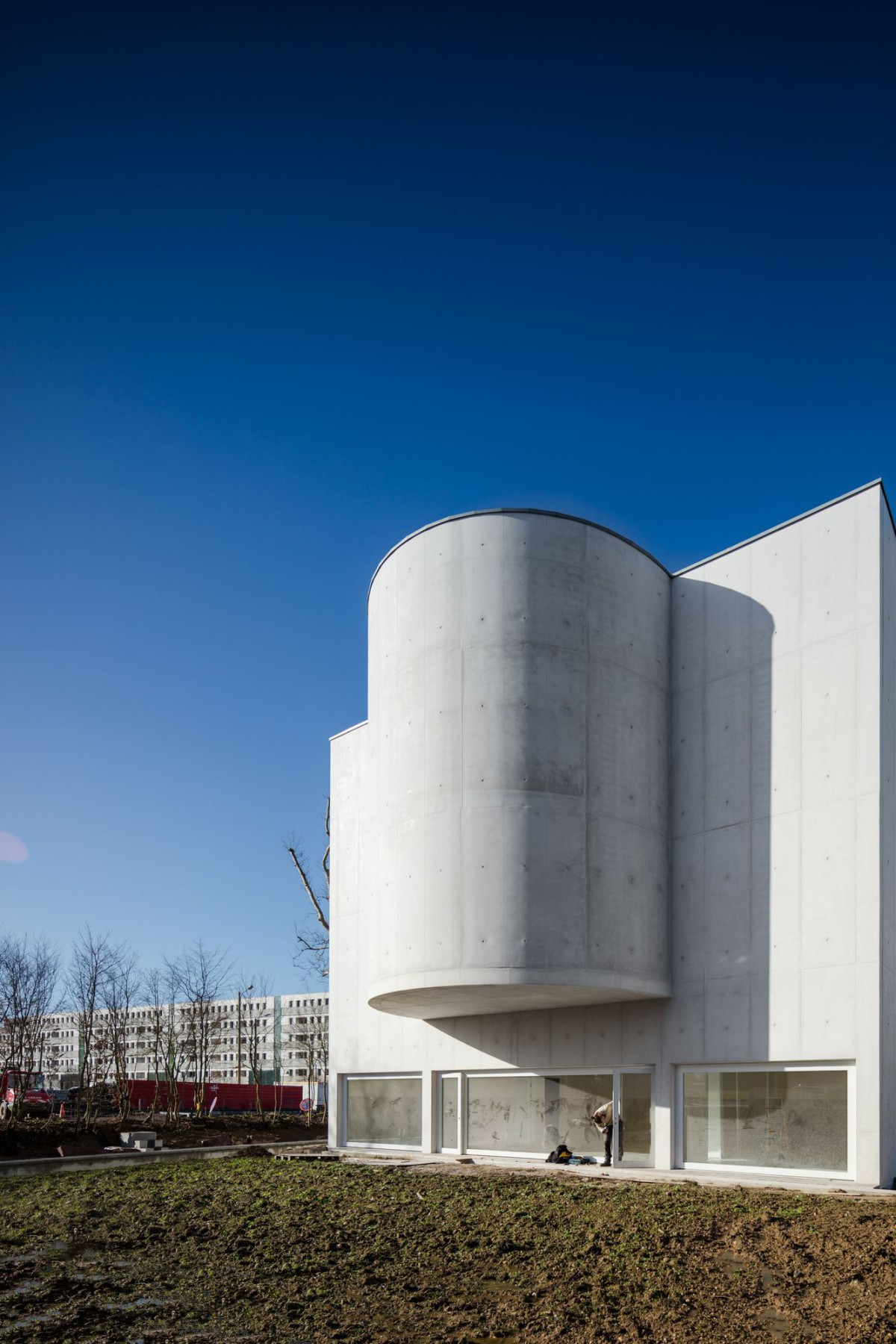 Alvaro Siza . Church of Saint-Jacques de la Lande . Rennes (8)
