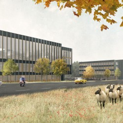 Lacroix Chessex .  International Police Building and Federal Center for asylum seekers . Grand-Saconnex (2)