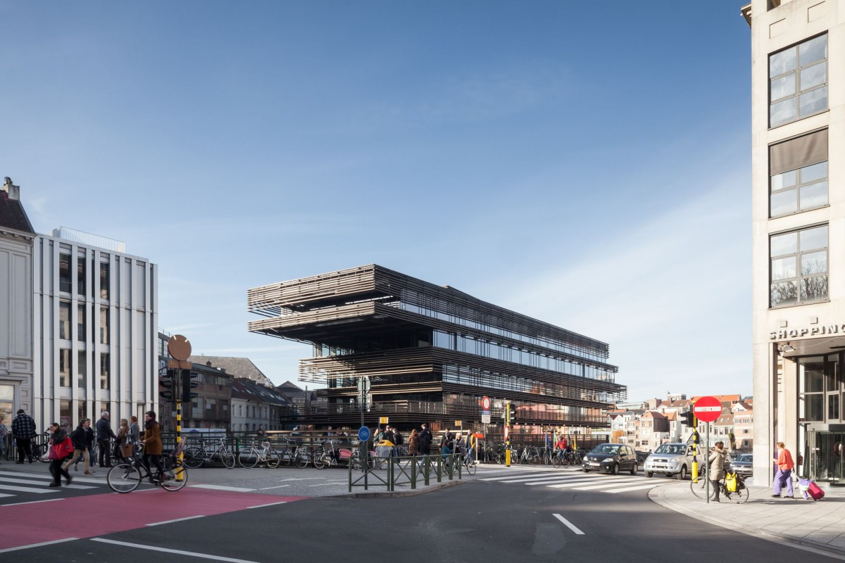 RCR . COUSSÉE & GORIS . De Krook  city library . Ghent (1)