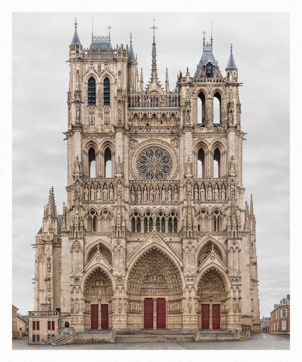 Amiens Cathedral in France . 2009-2016