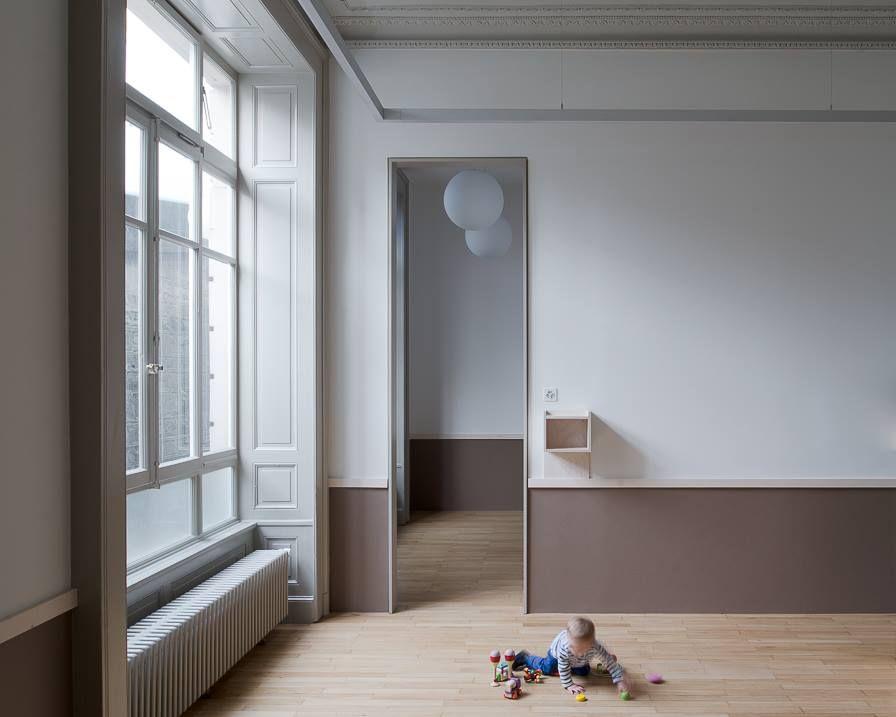 Bureau brisson . rufer . le centenaire day care centre . lausanne