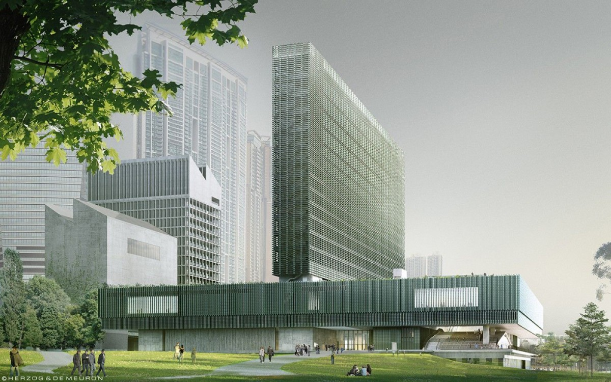 Herzog & de Meuron . M+ museum . Hong Kong (1)