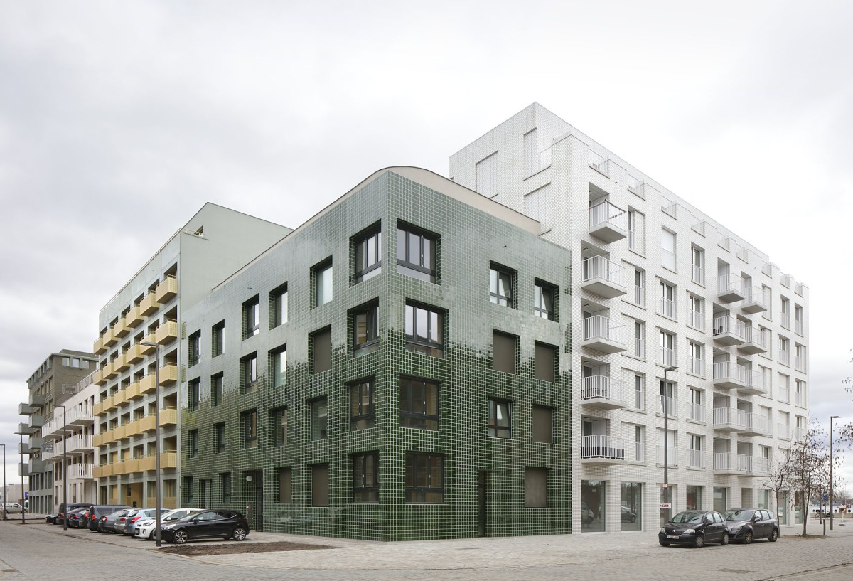 Meta Architectuurbureau . Cadix Housing Complex . Antwerp (4)
