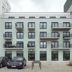 OFFICE . Cadix Housing Complex . Antwerp (1)