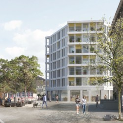 Christ & Gantenbein . Postareal Housing and Retail Developement . Liestal (1)