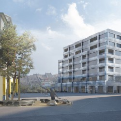 Christ & Gantenbein . Postareal Housing and Retail Developement . Liestal (4)