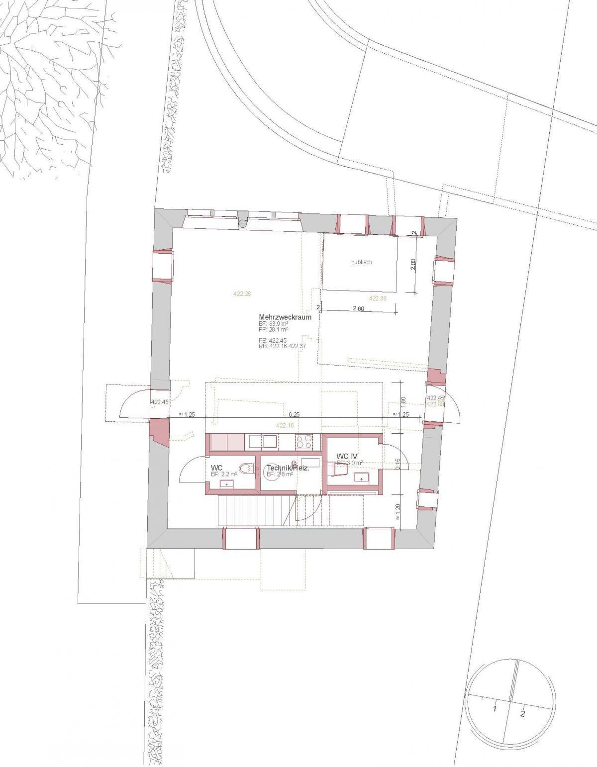 Furter Eppler . Schlössli house Renovation . Wohlen (29)