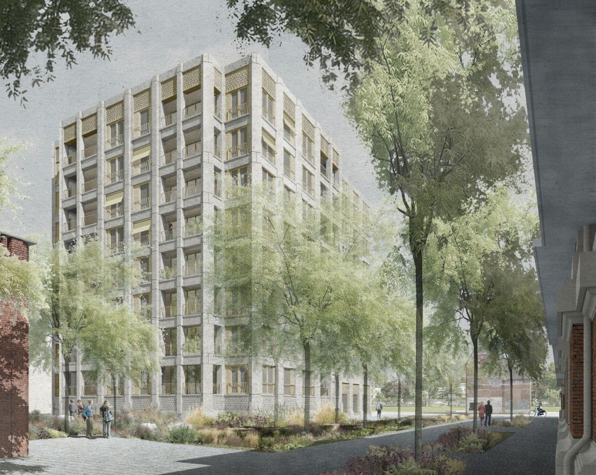 Sergison Bates . AWG . noA . Tour & Taxis residential quarter . Brussels (1)