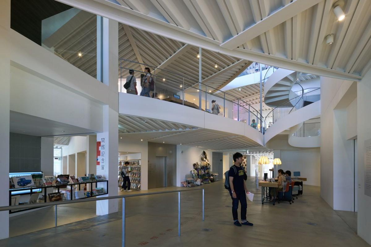 Akihisa Hirata . Art Museum & Library . Ota  (3)