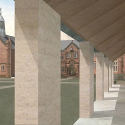 Caruso St John . Gladstone's Library expansion . Hawarden (3)