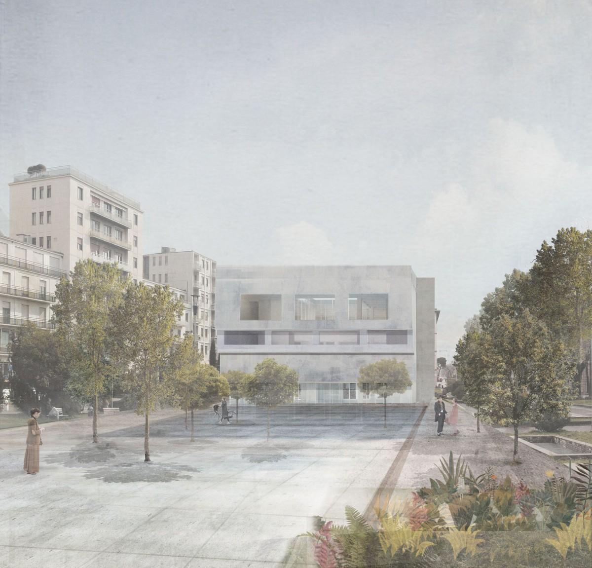 Justyna Mydlak . new Library . Bergamo (1)