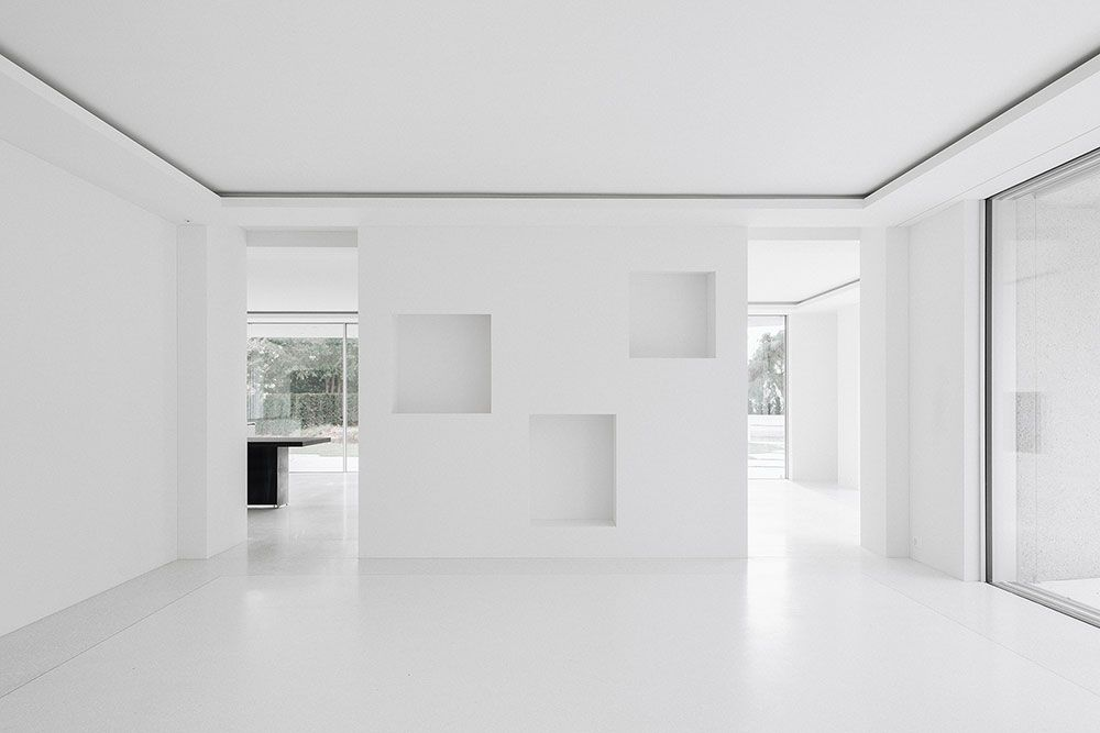 Think architecture . House for an Art Collector . Zurich (14)