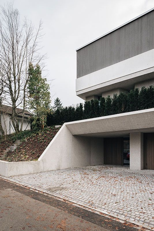 Think architecture . House for an Art Collector . Zurich (6)