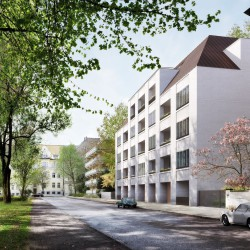 "A re-interpretation of the Munich ""Stadtpalais"": new residential building by David Chipperfield"