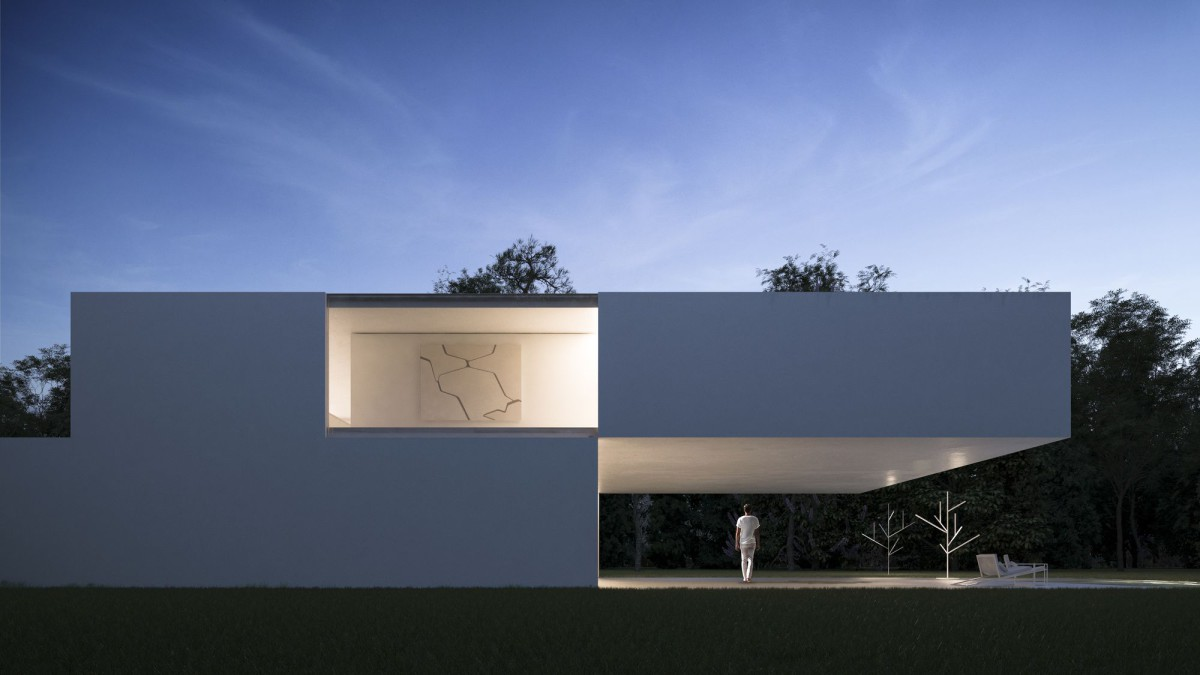 FRAN SILVESTRE . HOUSE IN THE LAKE . CALDES DE MALAVELLA (1)
