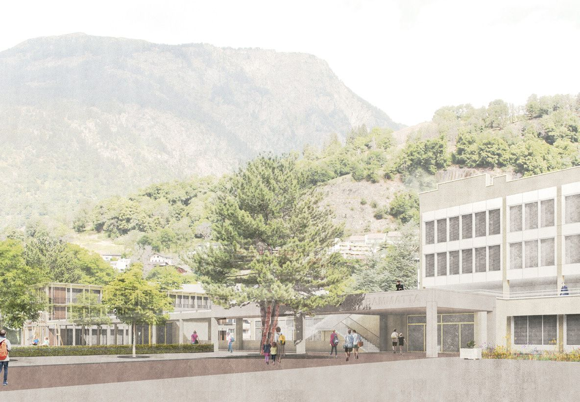 Marianne Meister . Campus Bammatta new primary school . Naters  (2)