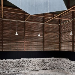 Peter Zumthor . Shelter for Roman Ruins .  Chur  (17)