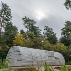 Rachel Whiteread . Nissen hut . Yorkshire (1)
