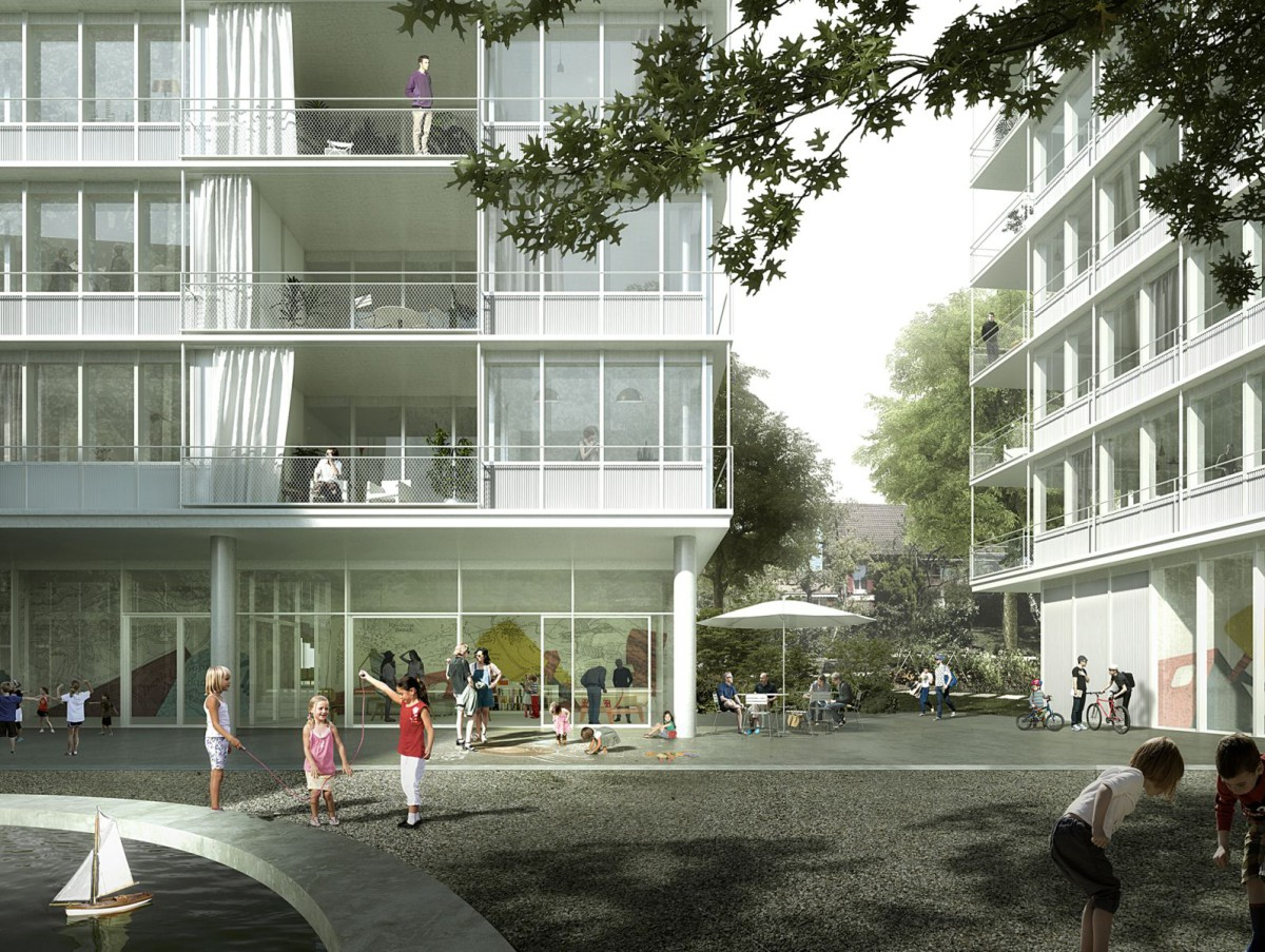 EM2N . Tannenrauchstrasse Replacement Housing Development . Zurich (1)