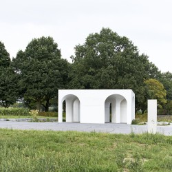 Gijs Van Vaerenbergh  . Six Vaults Pavilion . Hooglede (13)