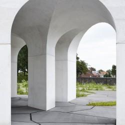 Gijs Van Vaerenbergh  . Six Vaults Pavilion . Hooglede (23)