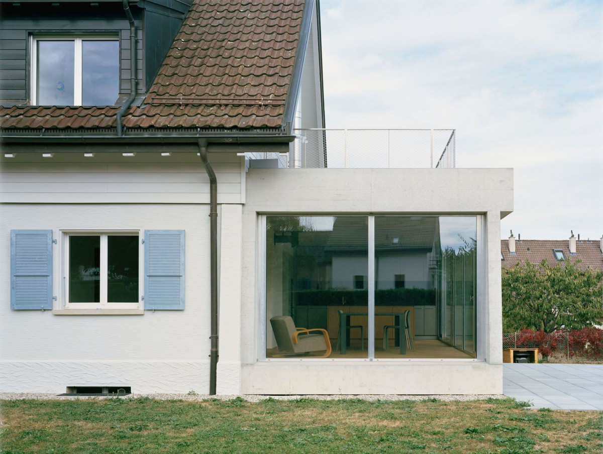 Lacroix Chessex . Private house extension . Gland (2)