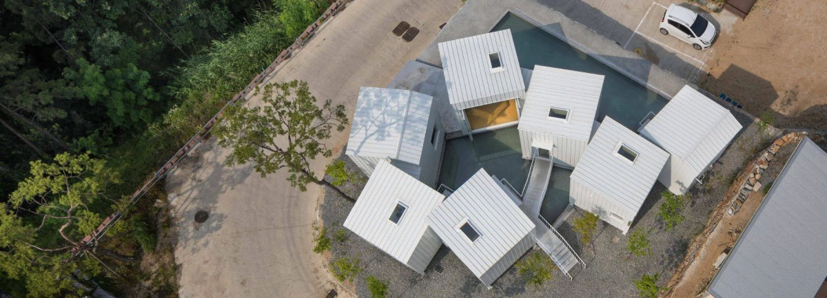 YounghanChung Architects . Floating Cubes . Cheongju  (1)