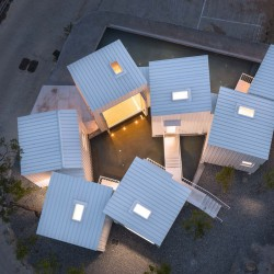 YounghanChung Architects . Floating Cubes . Cheongju  (2)