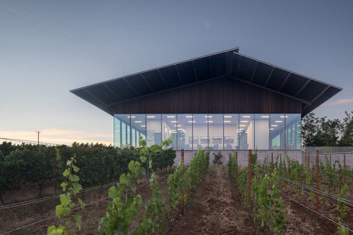 Waechter Architecture . Furioso Vineyards . Oregon afasia (1)