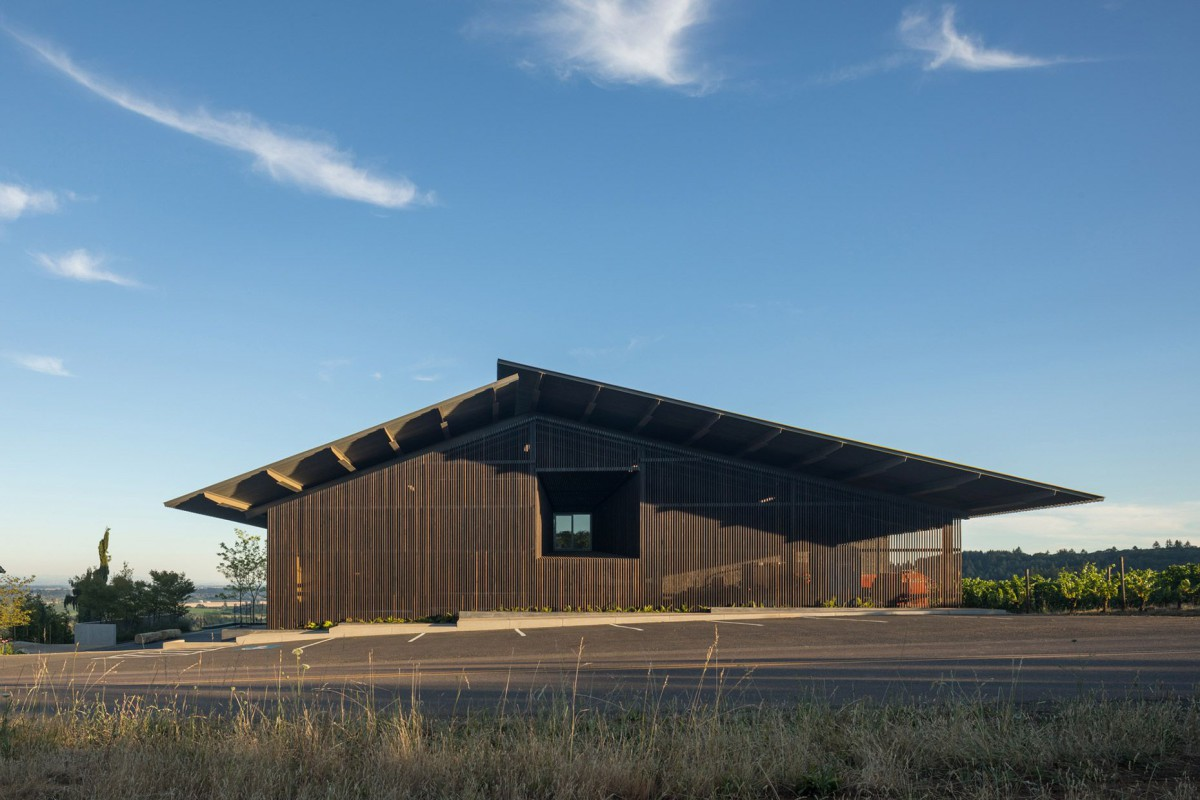 Waechter Architecture . Furioso Vineyards . Oregon afasia (10)