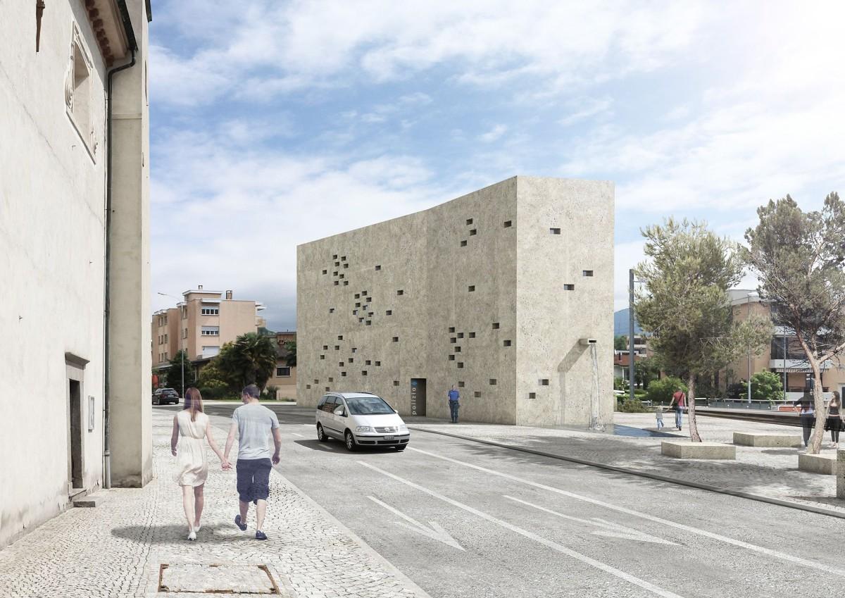 Wespi de Meuron Romeo . New Police Station . Caslano  afasia (1)