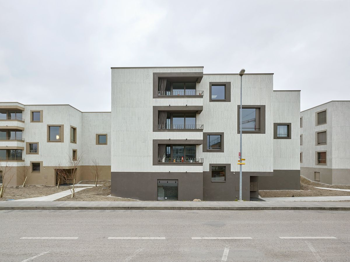 2b architectes . Housing for Elderly People . Sugiez afasia (1)