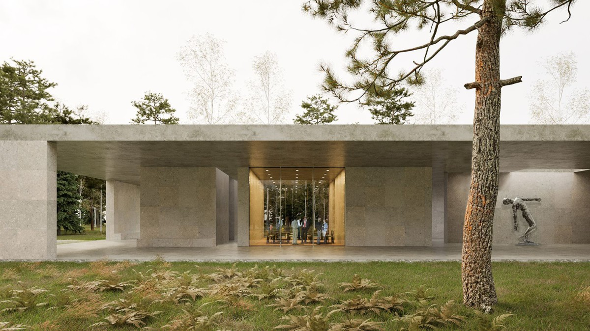 KAAN Architecten . new multifunctional pavilion .  Loenen afasia (1)