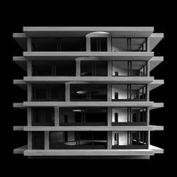 Pezo von Ellrichshausen . Ines building . Concepción afasia (3)