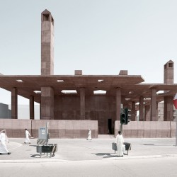 Valerio Olgiati . Pearling Path . Muharraq afasia (1)