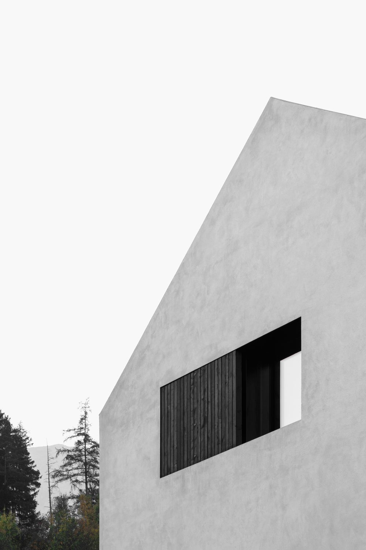 bergmeisterwolf architekten . Pleated B Villa . Aldrans afasia (5)
