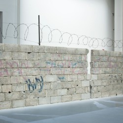 Teresa Margolles . Muro Ciudad Juárez . 2010 afasia (3)