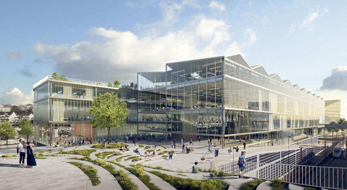 afasia EM2N . Ghilardi+Hellsten . DIFK . Aker BP headquarters . Stavanger (2)