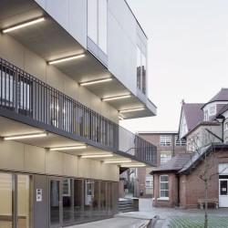 Henley Halebrown . The Cloisters, St. Benedict's School . London afasia (3)