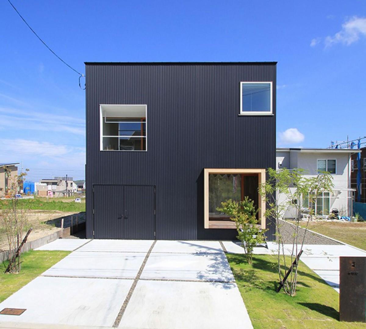 Hideta Architects . House in Shiroyamadai . Kizugawa afasia (1)