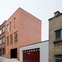 adn architectures . Single-family house . Brussels afasia (2)