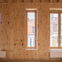 adn architectures . Single-family house . Brussels afasia (26)