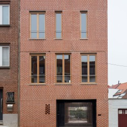 adn architectures . Single-family house . Brussels afasia (3)