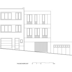 adn architectures . Single-family house . Brussels afasia (31)