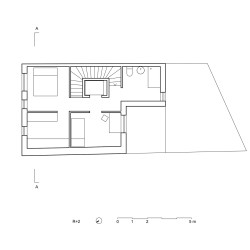 adn architectures . Single-family house . Brussels afasia (35)