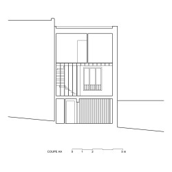 adn architectures . Single-family house . Brussels afasia (36)