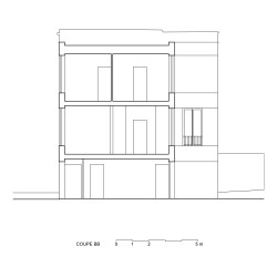 adn architectures . Single-family house . Brussels afasia (37)