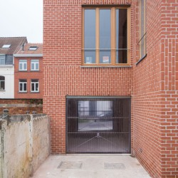 adn architectures . Single-family house . Brussels afasia (4)